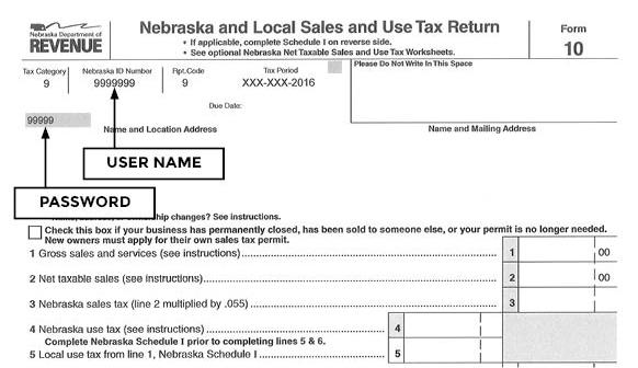 Online Sales And Use Tax Filing Faqs Nebraska Department Of Revenue